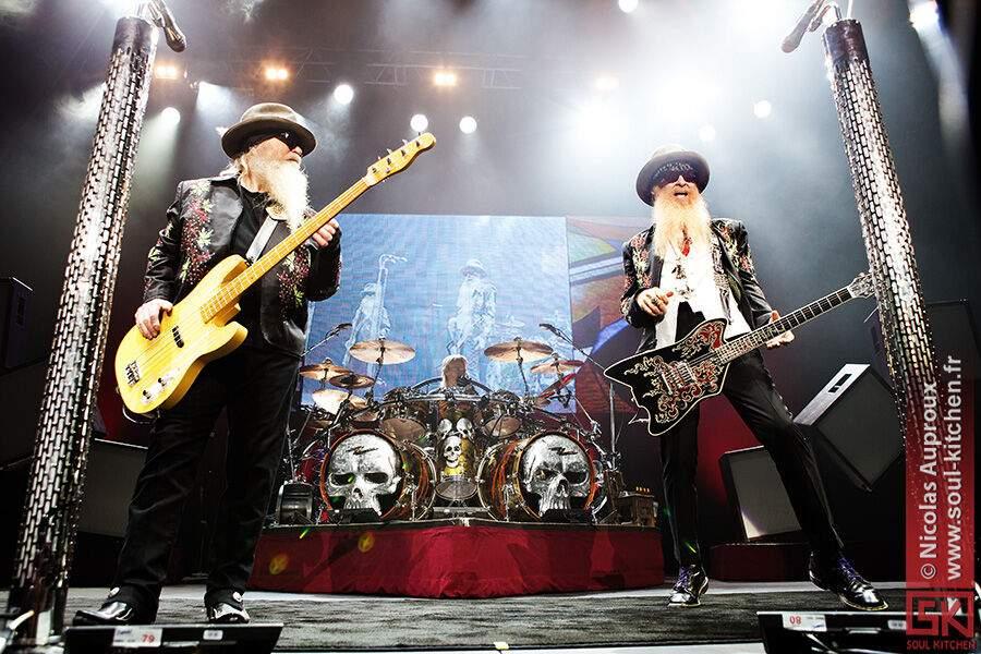 Photos concert : ZZ Top au Zénith d'Auvergne, Cournon | 6 juillet 2011