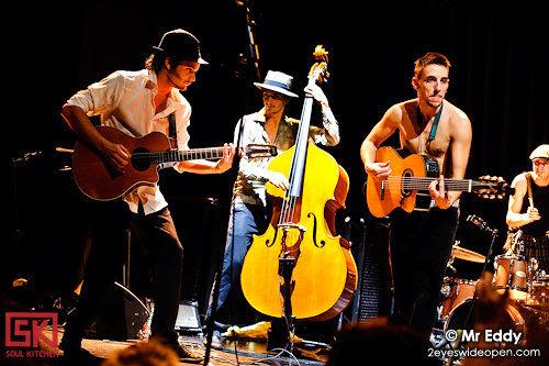 Photos concert : Les Yeux D'la Tête @ Les Trois Baudets, Paris | 05.12.2009