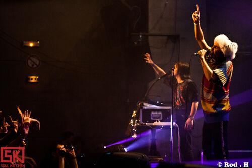 Photos concert : Naïve New Beaters + MilkRun @ Le Grand Mix, Tourcoing | 11 décembre 2009