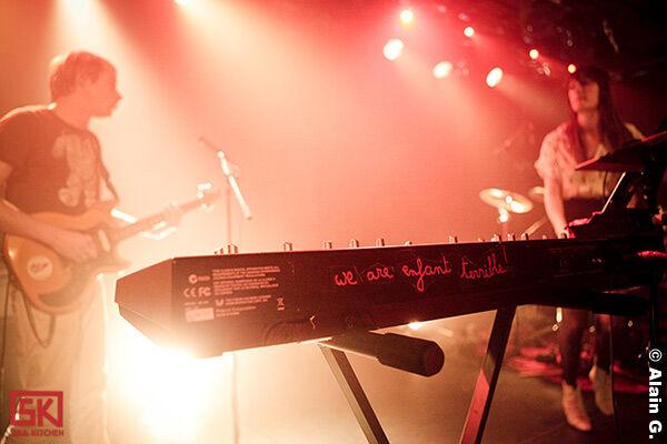 Photos concert : Adam Kesher et We Are Enfant Terrible à la Maroquinerie, Paris | 19.04.2010