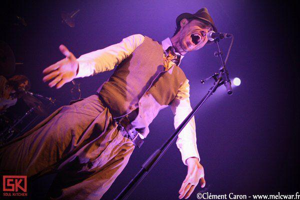 Photos concert : Charlie Winston + Nadeah, Zénith Arena, Lille | 01.06.2010