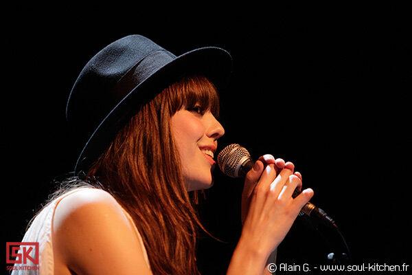 Photos concert : Diane Birch @ Café de la Danse, Paris | 5 juillet 2010