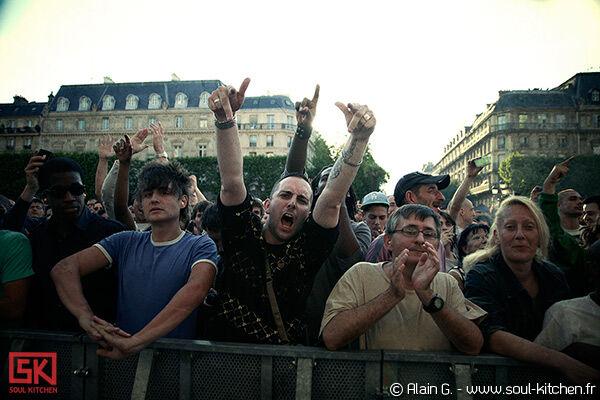 Photos concert Fnac Indétendances 2010, Paris | 30 juillet 2010