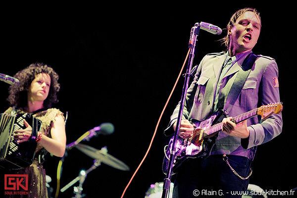 Photos concert : Arcade Fire @ Rock En Seine 2010, 29-08-2010