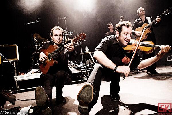 Photos concert : Poum Tchack @ La puce à l'oreille, Riom   13 Juin 2010