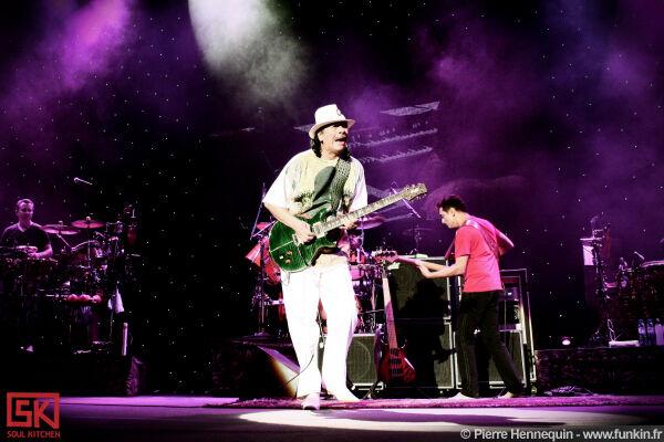 Photos concert : Santana @ Zénith, Dijon | 10 octobre 2010