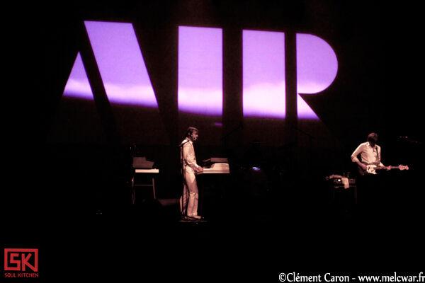 Photos Concert : Air @ La Luna | 05 Novembre 2010