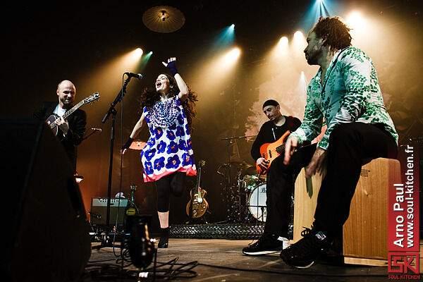 Photos concert : Yael Naim @ L'Autre Canal, Nancy | 12 février 2011