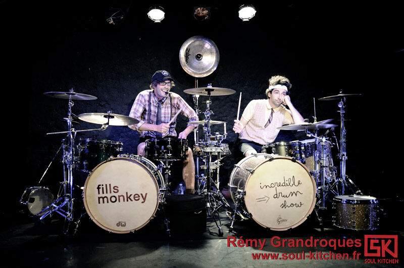 Photos concert : Fill's Monkey @ Le Sentier des Halles, Paris | 28 mai 2011