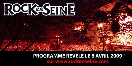Rock En Seine 2009, les dates