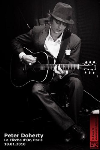Peter Doherty (La Flèche d'Or, Paris - 18.01.2010)