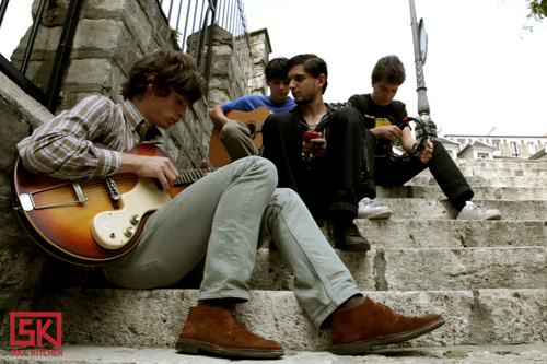 Kid Bombardos - session acoustique