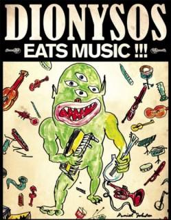 Dionysos eats music