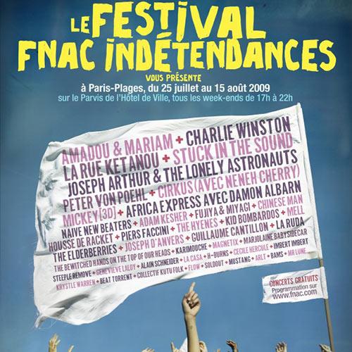Festival Fnac Indétendances, c'est parti