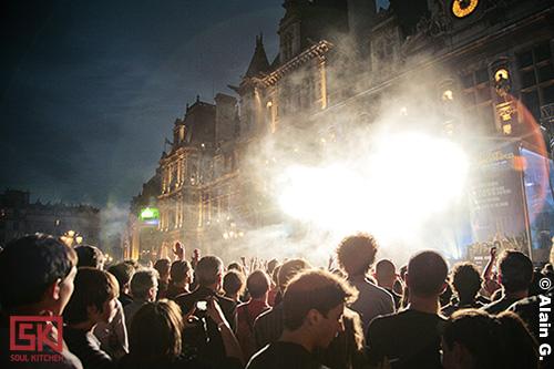 Photos Stuck In The Sound @ Paris plage (festival Fnac indétendances 2009), Paris | 01.08.2009