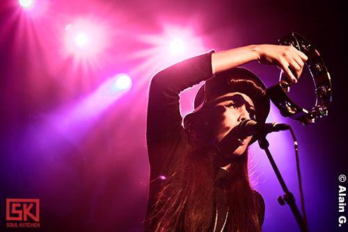 Photos concert : VV Brown à l'Alhambra - 01/10/2009