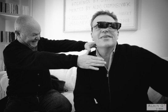 Graham « Suggs » McPherson & Lee Thompson (Madness), Paris, 21-10-2009