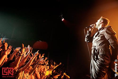 Kasabian au Bataclan, 23/10/2009