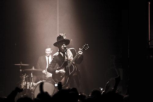 Photos concert : Peter Doherty, Graham Coxon - Zenith, Paris - 5 octobre 2009