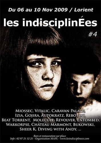 Festival Les Indisciplinés 2009 à Lorient