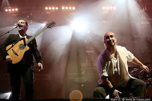Compte rendu des concert de Tryo et La Rue Ketanou à Bercy, Paris - 16.12.2009