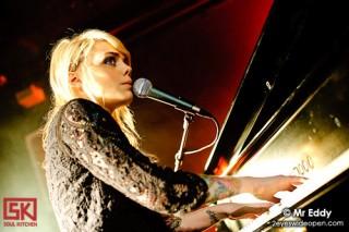 Photos : Coeur De Pirate en concert privé au Studio SFR, Paris - 25 janvier 2010