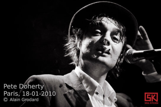 Pete Doherty @ Flèche d'Or, Paris | 18 janvier 2010
