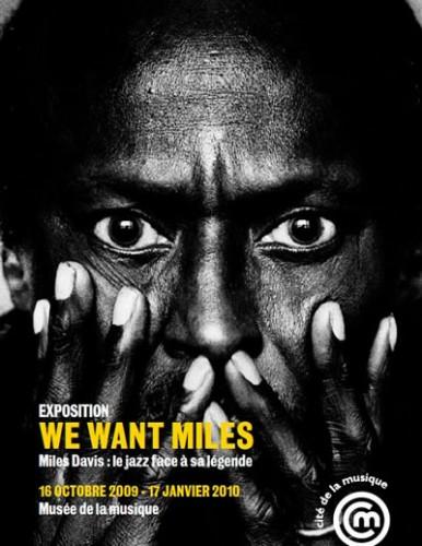 Exposition We Want Miles à la Cité de la Musique jusqu'au 17 janvier 2010