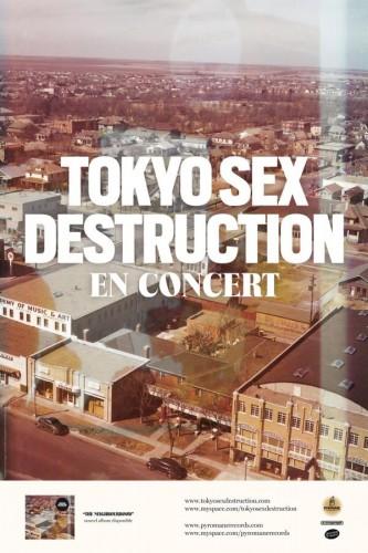 4 places à gagner pour Tokyo Sex Destruction au Clacson