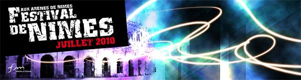 Festivals de Nîmes 2010 : les premiers noms sont tombés