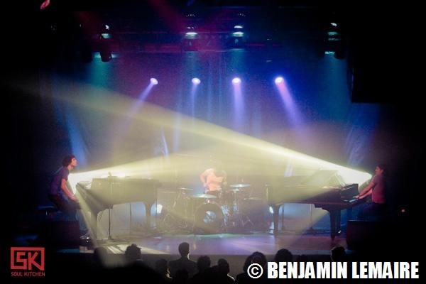 Aufgang à La Machine du Moulin Rouge