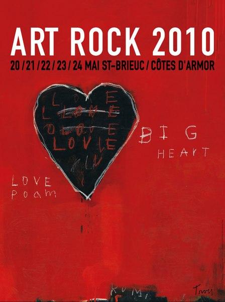 Affiche Artrock 2010