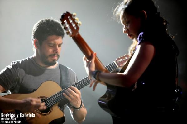 Rodrigo  y Gabriela @ Musilac 2010