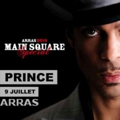 5 places pour le concert de Prince au Main Square festival à gagner !
