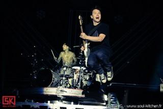 Photos concert : Blink 182 @ Rock en Seine - 27 aout 2010
