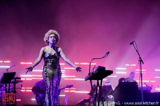 Photos concert : Massive Attack @ festival Rock En Seine 2010, 28-08-2010