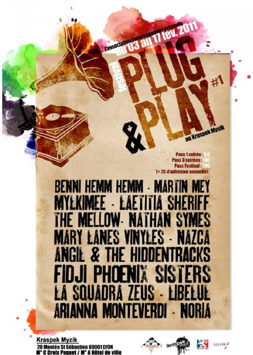 Festival Plug & Play au Kraspek