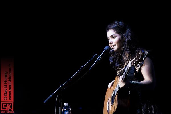 Katie Melua et Yoav à l'Amphithéâtre – Salle 3000