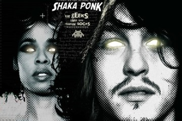 Chronique : Shaka Ponk - The Geeks and The Jerkin' Socks