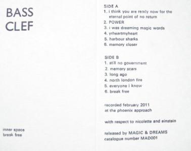 Bass Clef : inner space break free