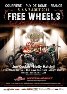 Programmation Free Wheels 2011