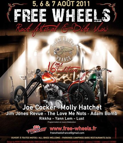 Programmation Free Wheels 2011