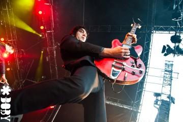 The Jim Jones Revue @ Rock En Seine 2011 - photos concert