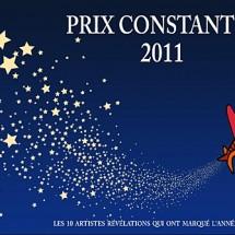 Sélection du Prix Constantin 2011