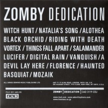Zomby : Dedication (Japanese Edition)