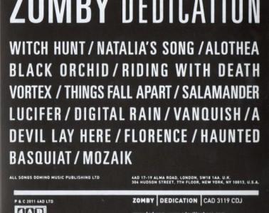Zomby : Dedication (Japanese Edition)