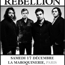 4 places pour le concert de The Boxer Rebellion à La Maroquinerie (17/12)