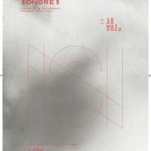 Affiche - Les Nuits Sonores 2012