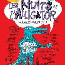 L'alligator a les crocs !