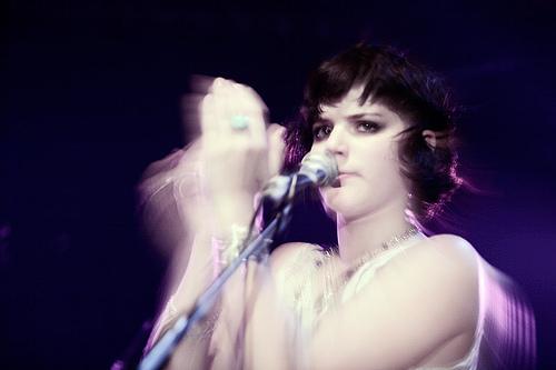 Soko (concert @ La Flèche d'Or, 7 octobre 2007)